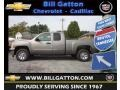 Graystone Metallic - Silverado 1500 LS Extended Cab Photo No. 1