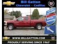 2013 Deep Ruby Metallic Chevrolet Silverado 1500 LS Extended Cab  photo #1