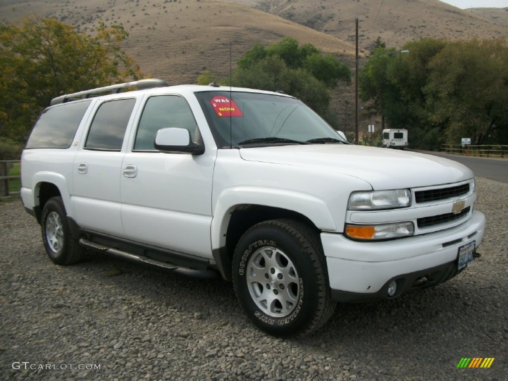 Summit white 2003 chevrolet suburban 1500 z71 4x4 exterior photo 71466698