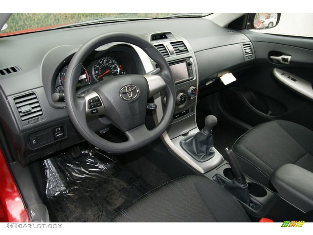 Dark Charcoal Interior 2013 Toyota Corolla S Photo #71473412