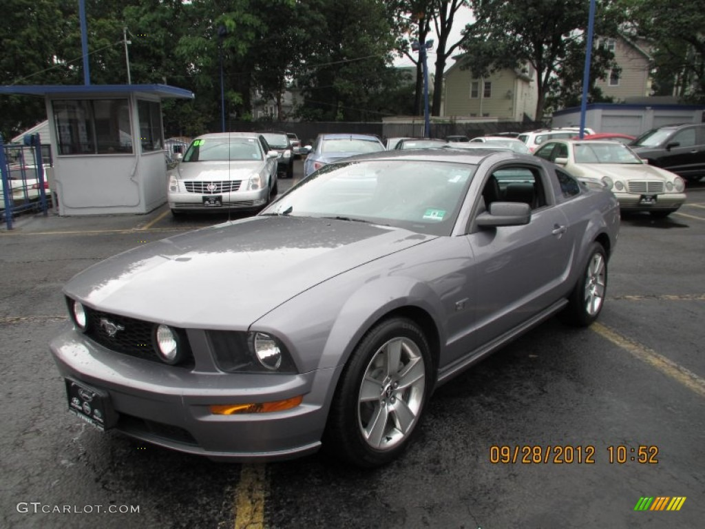 Tungsten Grey Metallic Ford Mustang