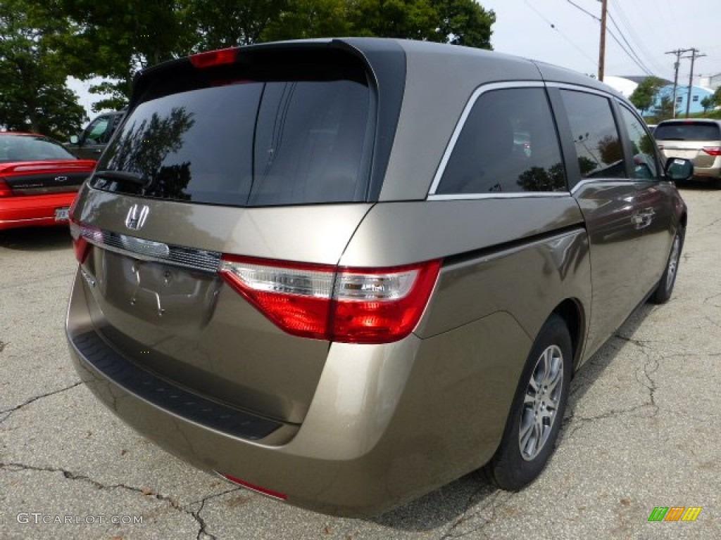 Smokey Topaz Metallic 2013 Honda Odyssey Ex L Exterior Photo 71487092 Gtcarlot Com
