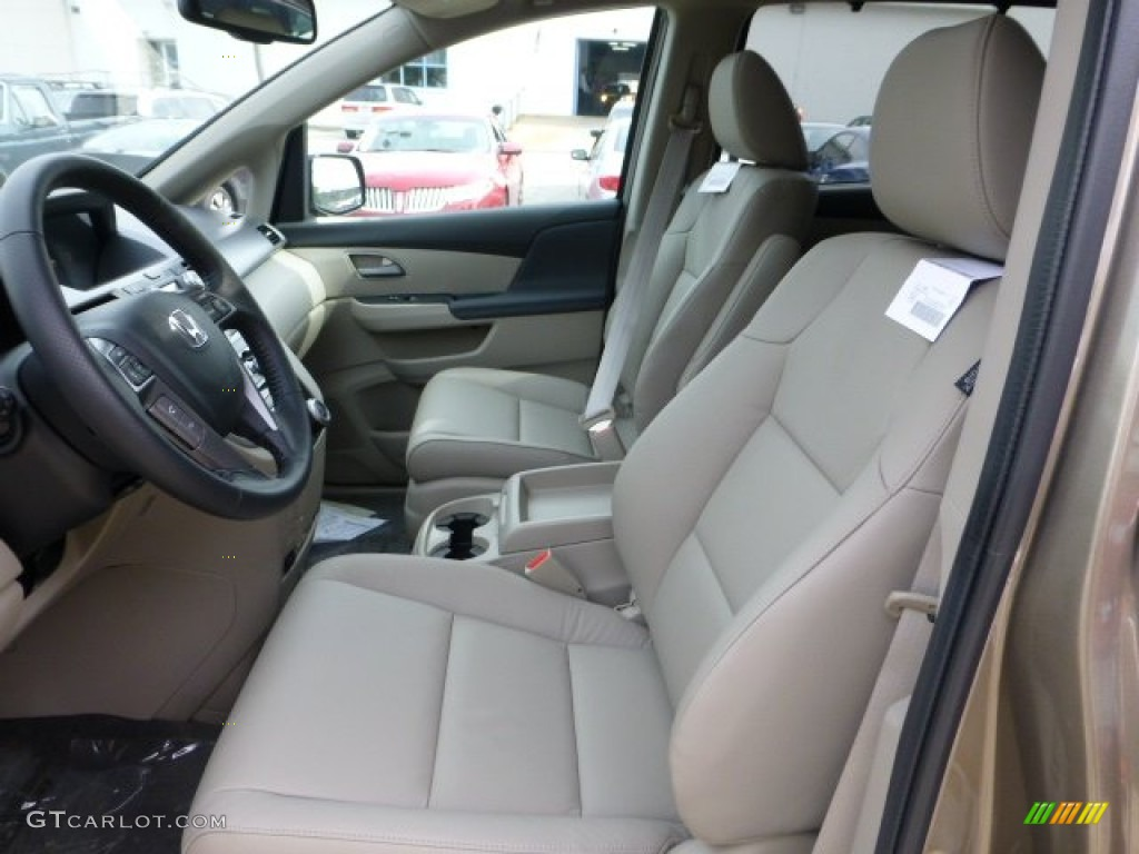 beige interior 2013 honda odyssey ex l photo 71487154. Black Bedroom Furniture Sets. Home Design Ideas