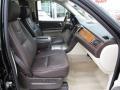 2009 Cadillac Escalade Cocoa/Very Light Linen Interior Front Seat Photo