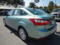 2012 Frosted Glass Metallic Ford Focus SEL Sedan  photo #3