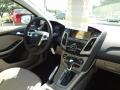 2012 Frosted Glass Metallic Ford Focus SEL Sedan  photo #11
