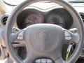 2005 Pontiac Grand Am Dark Pewter Interior Steering Wheel Photo