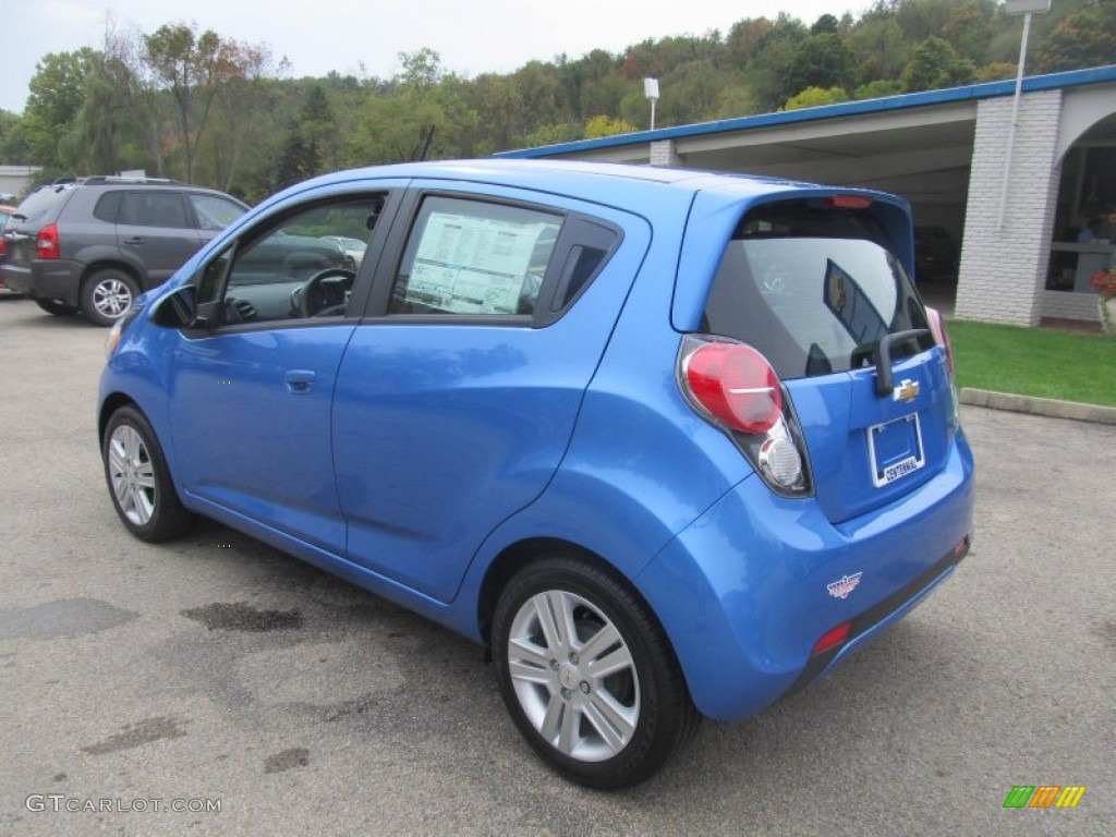 Denim (Blue) 2013 Chevrolet Spark LS Exterior Photo #71496709 ...