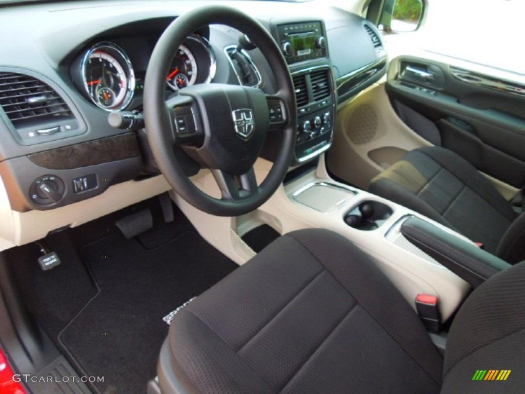Black Light Graystone Interior 2013 Dodge Grand Caravan Sxt Photo 71497282