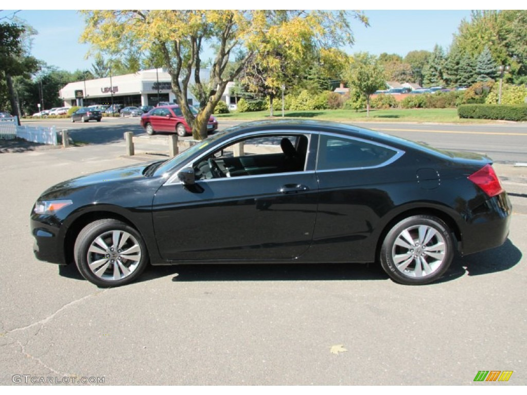 Crystal Black Pearl 2012 Honda Accord Ex Coupe Exterior