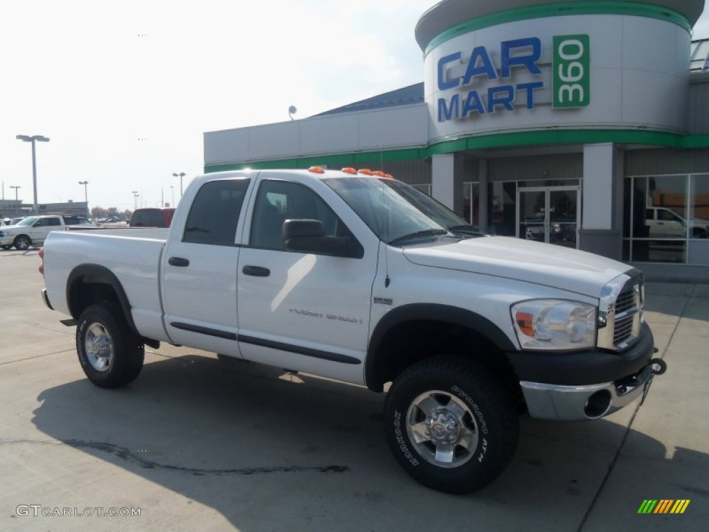 2009 Bright White Dodge Ram 2500 Power Wagon Quad Cab 4x4 71504738
