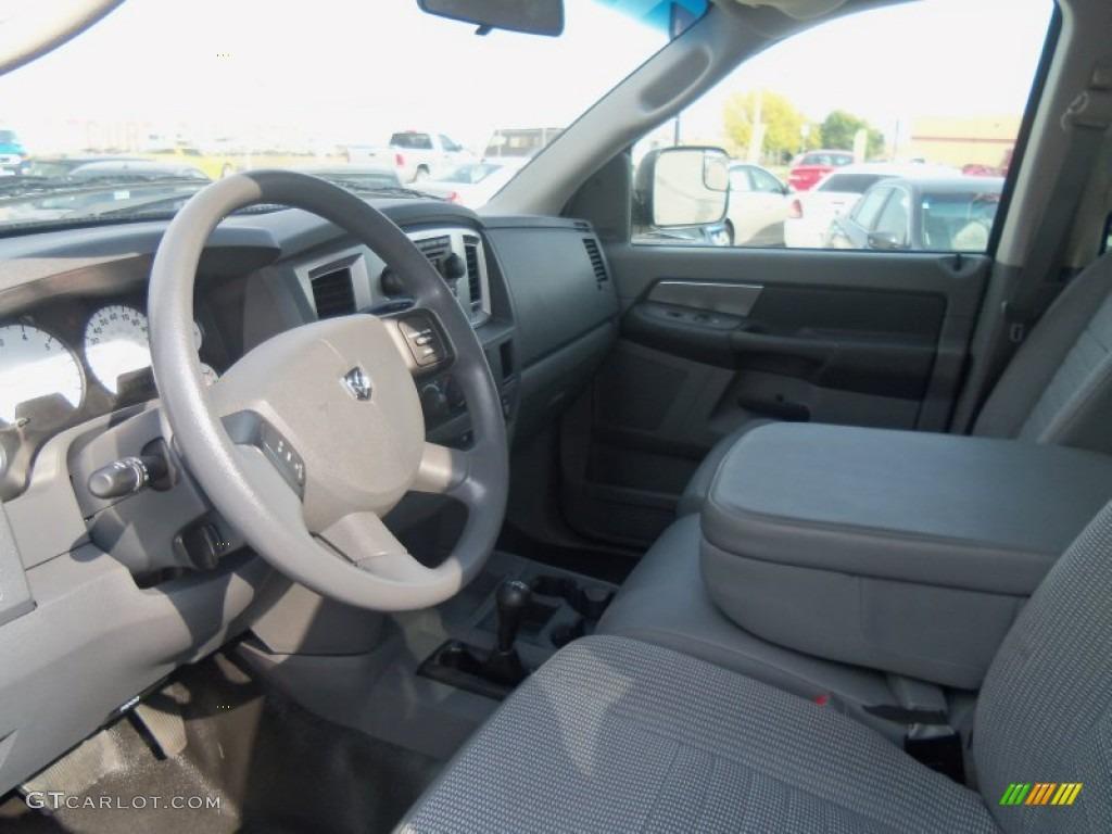 Medium Slate Gray Interior 2009 Dodge Ram 2500 Power Wagon Quad Cab 4x4 Photo 71509397 Gtcarlot Com
