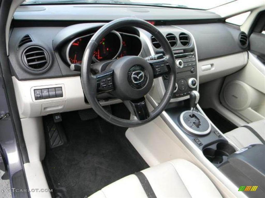 Sand Interior 2007 Mazda cx 7