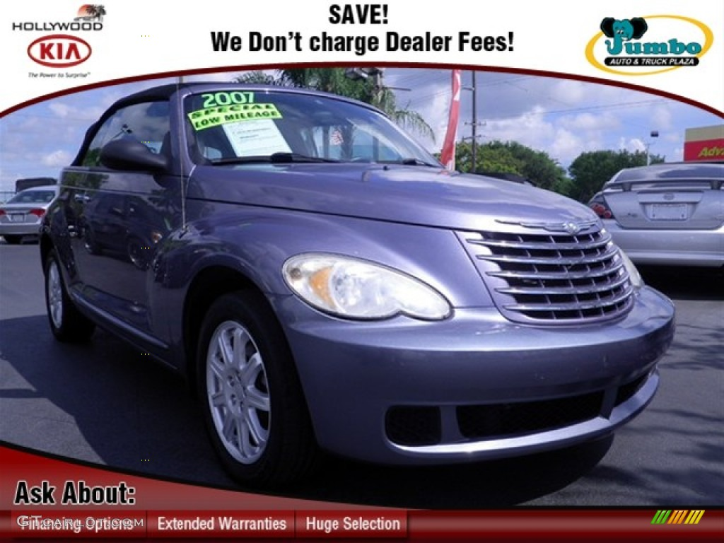 Opal Gray Metallic Chrysler PT Cruiser