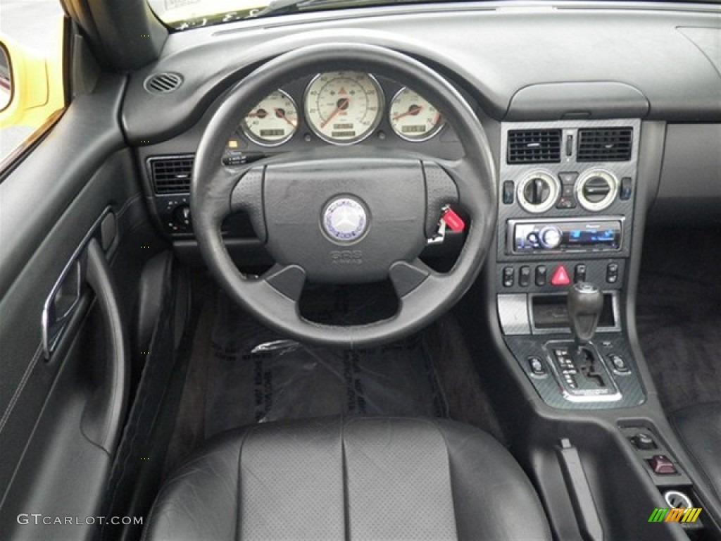 1998 mercedes benz slk 230 kompressor roadster charcoal dashboard photo 71513402. Black Bedroom Furniture Sets. Home Design Ideas