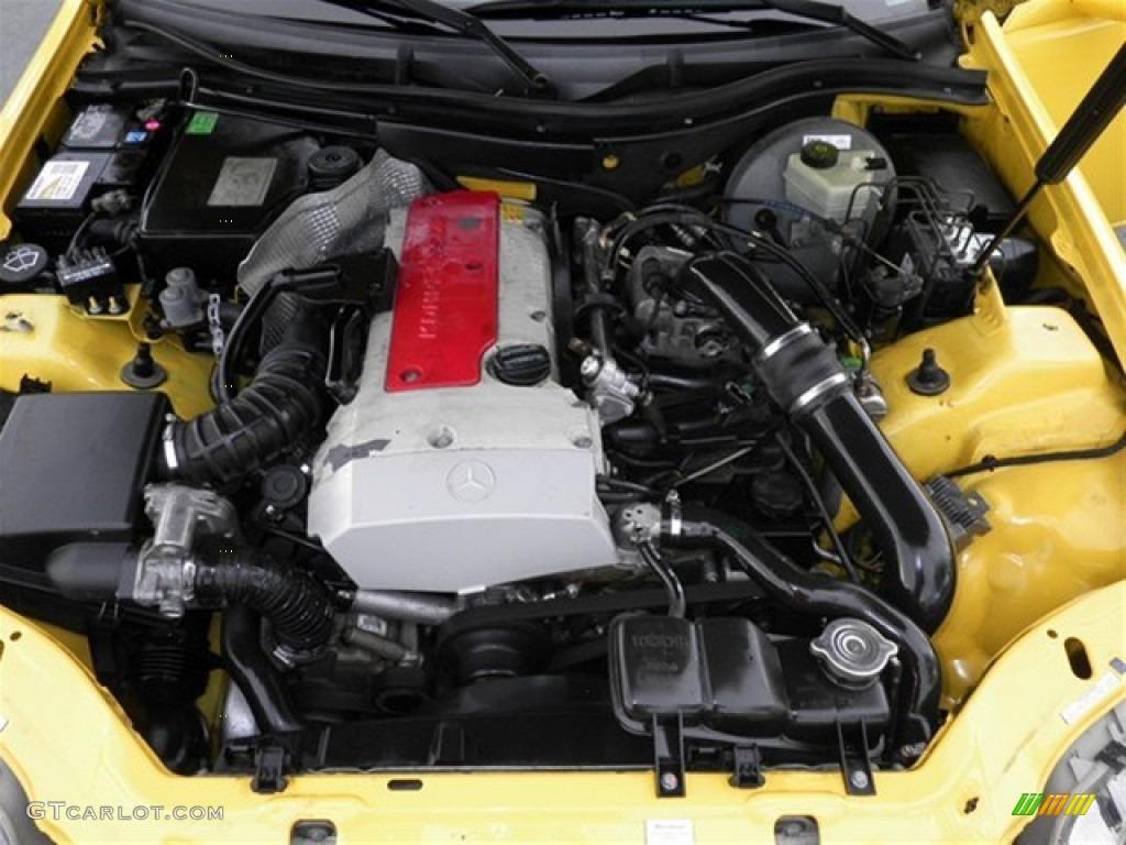 1998 Mercedes Benz Slk 230 Kompressor Roadster 2 3l Supercharged Dohc 16v 4 Cylinder Engine