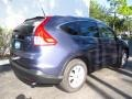 2013 Twilight Blue Metallic Honda CR-V EX-L  photo #3