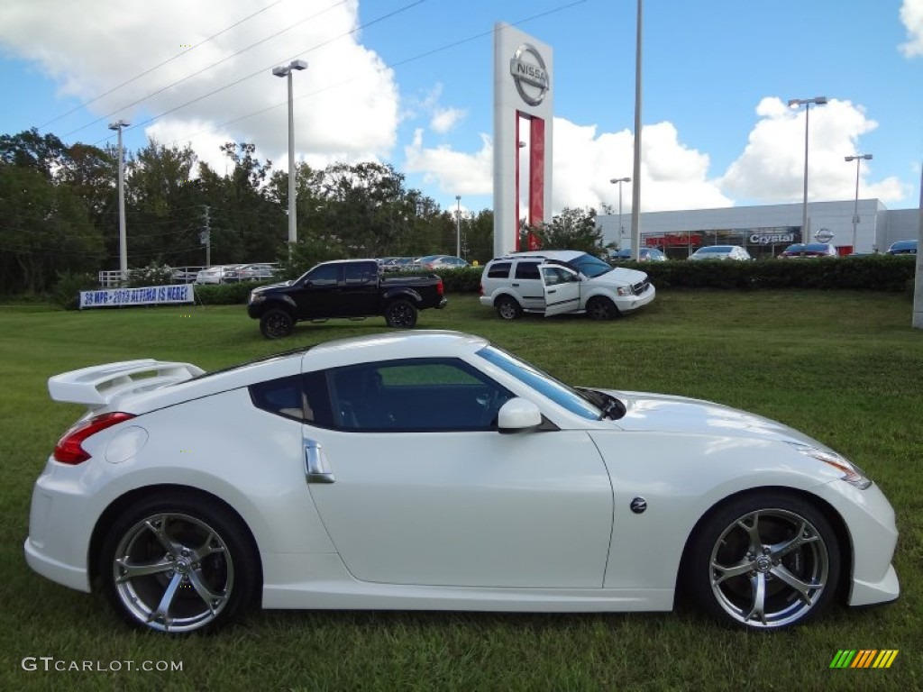 Pearl White 2010 Nissan 370z Nismo Coupe Exterior Photo 71520581 Gtcarlot Com