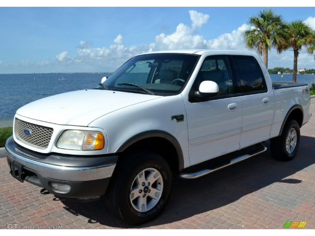 2002 Oxford White Ford F150 FX4 SuperCrew 4x4 #71504675 ...
