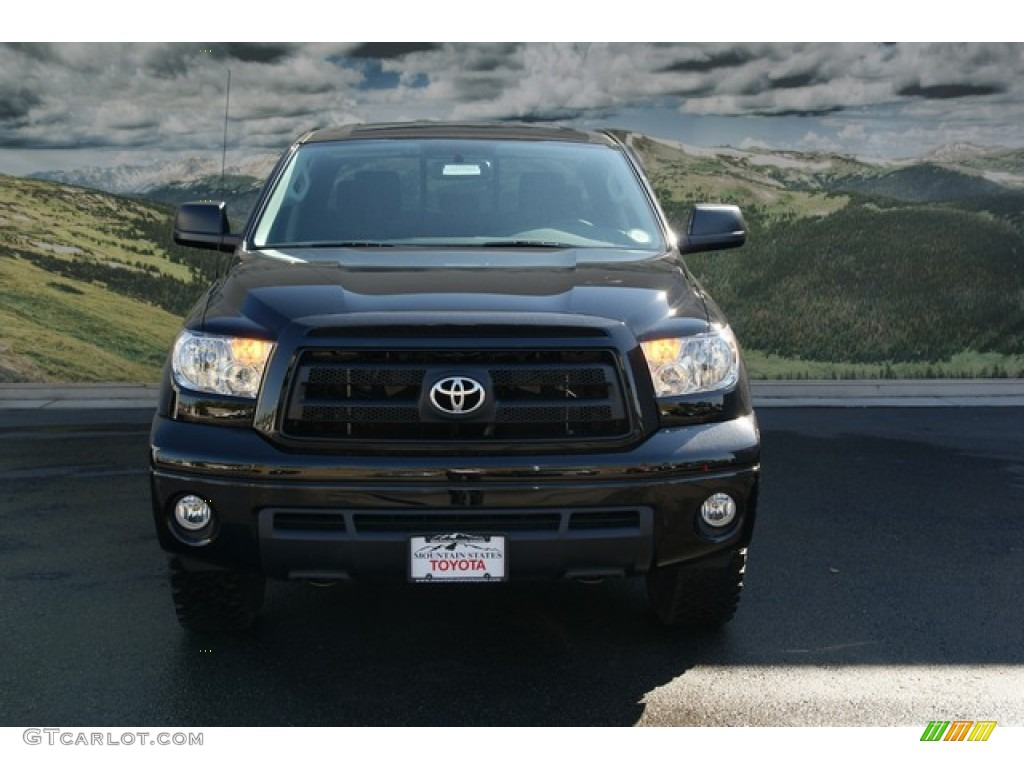 2013 Tundra TRD Rock Warrior Double Cab 4x4 - Black / Black photo #3
