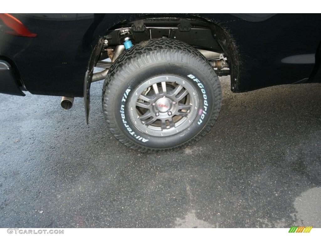 2013 Tundra TRD Rock Warrior Double Cab 4x4 - Black / Black photo #9