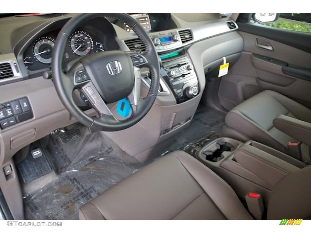 Truffle Interior 2013 Honda Odyssey Touring Elite Photo 71528593 Gtcarlot Com