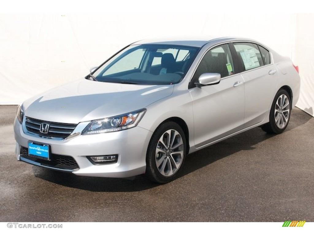 2013 Honda Accord Sport Sedan - Alabaster Silver Metallic Color ...