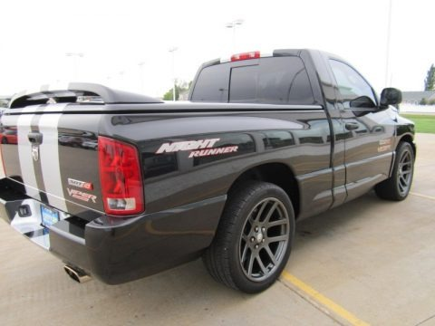2006 dodge ram 1500 srt 10 night runner regular cab data info and specs. Black Bedroom Furniture Sets. Home Design Ideas