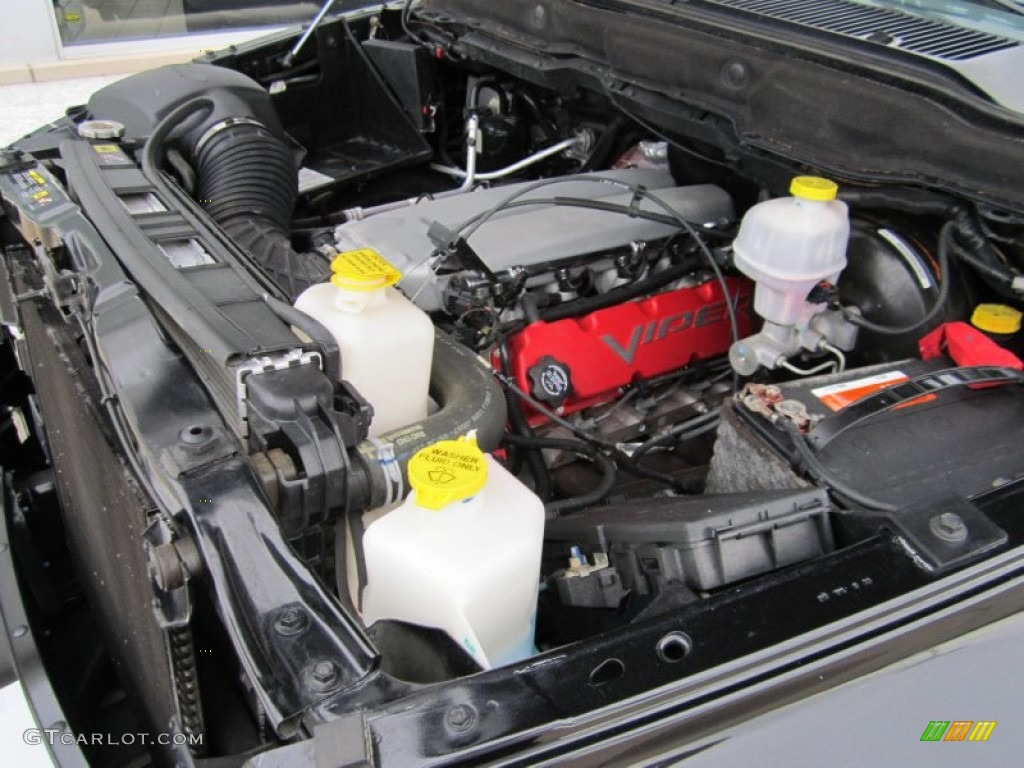2006 Dodge Ram 1500 Srt 10 Night Runner Regular Cab 8 3 Liter Srt Ohv 20 Valve V10 Engine Photo