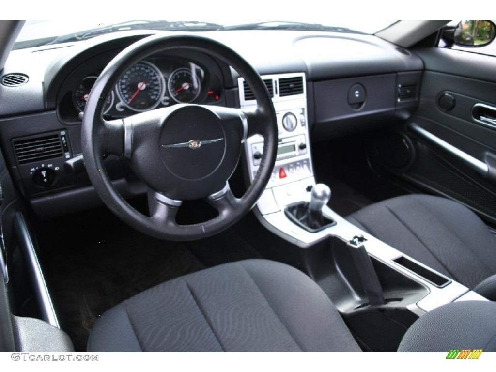 Dark slate grey interior 2005 chrysler crossfire coupe - 2004 chrysler crossfire interior ...