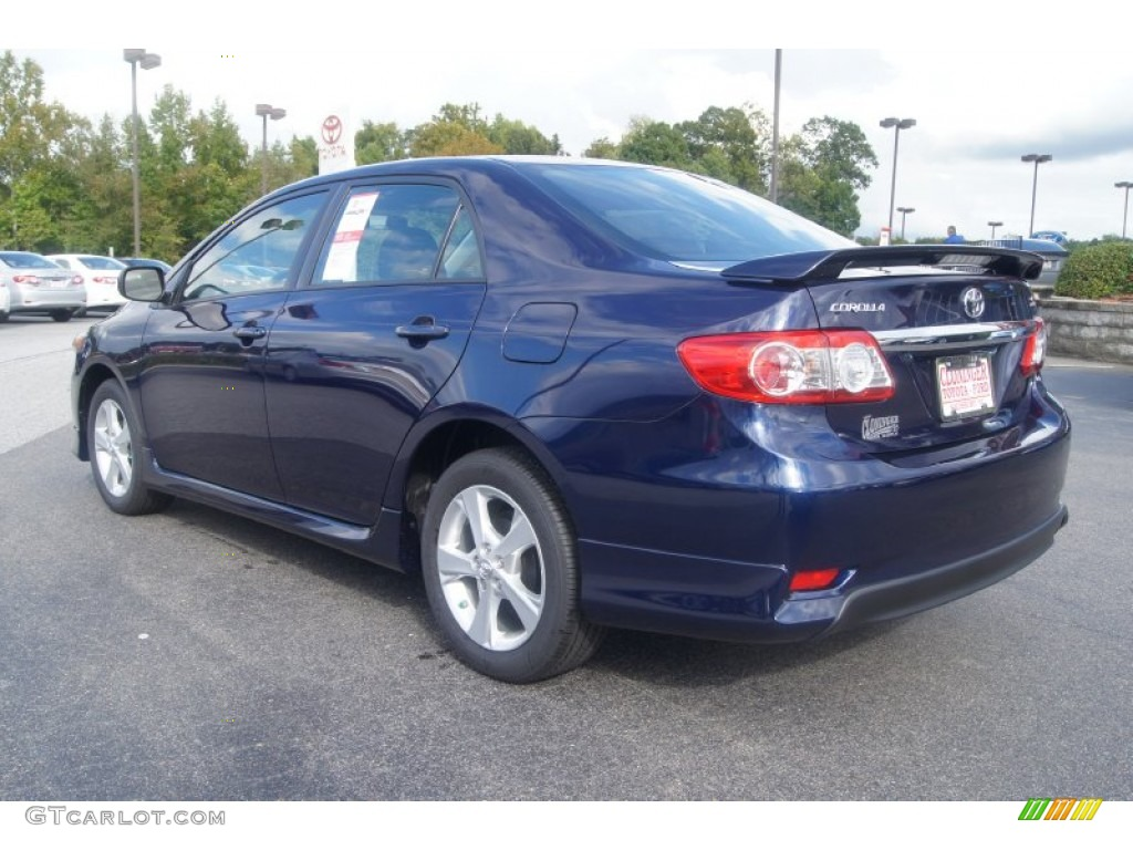 2013 nautical blue metallic toyota corolla s 71531278. Black Bedroom Furniture Sets. Home Design Ideas