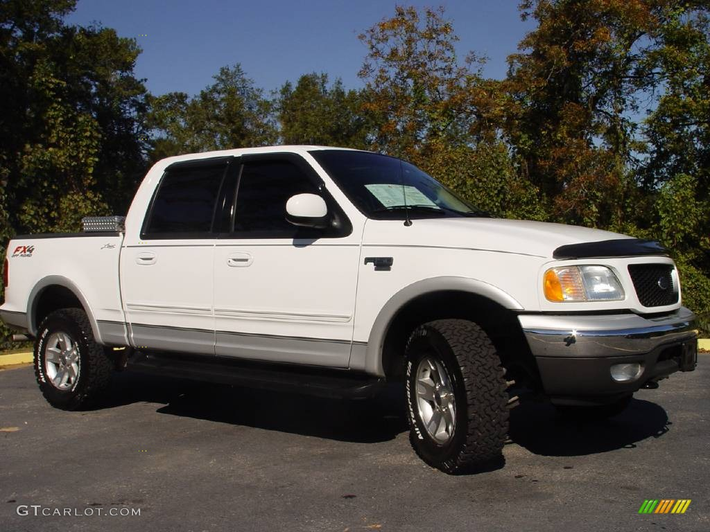 2003 oxford white ford f150 lariat fx4 off road supercrew 4x4 664389 photo 6. Black Bedroom Furniture Sets. Home Design Ideas