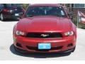 2011 Red Candy Metallic Ford Mustang V6 Coupe  photo #2