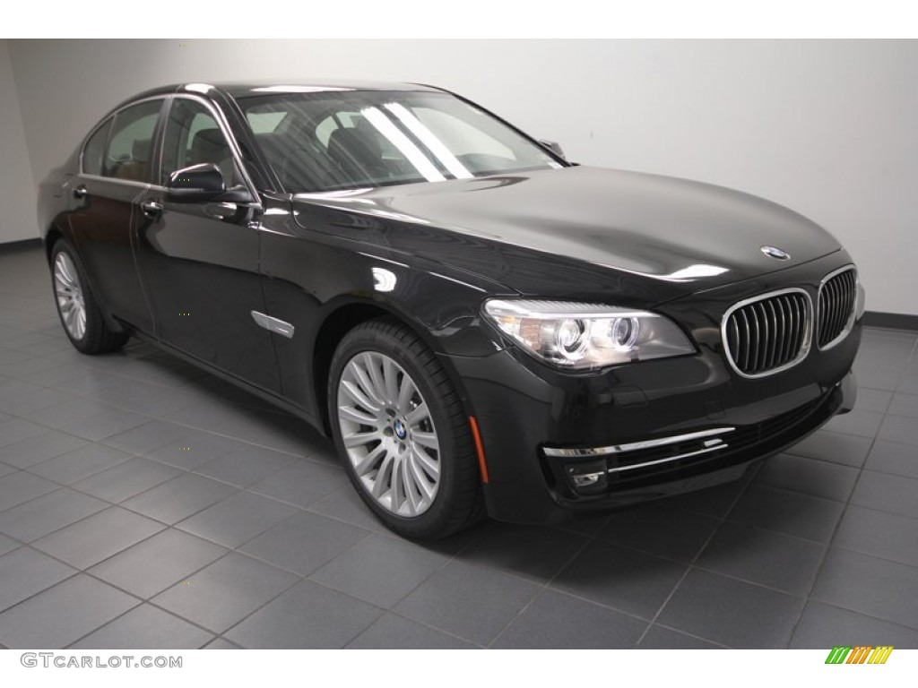 2013 black sapphire metallic bmw 7 series 740i sedan. Black Bedroom Furniture Sets. Home Design Ideas