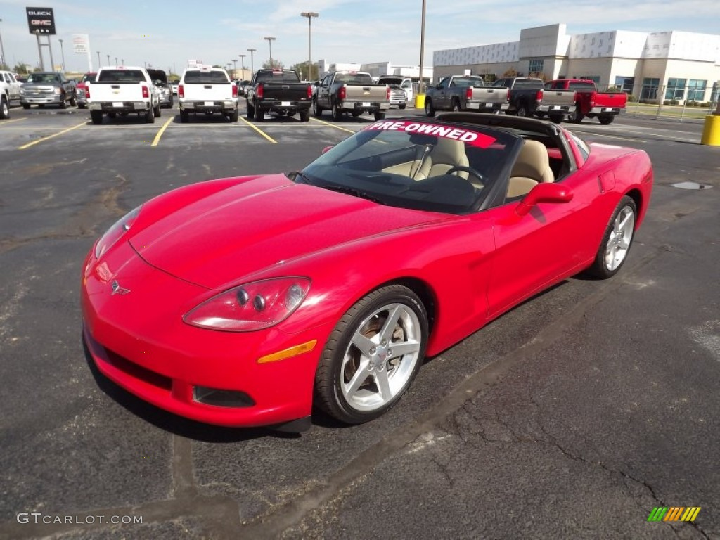 Victory Red 2005 Chevrolet Corvette Coupe Exterior Photo
