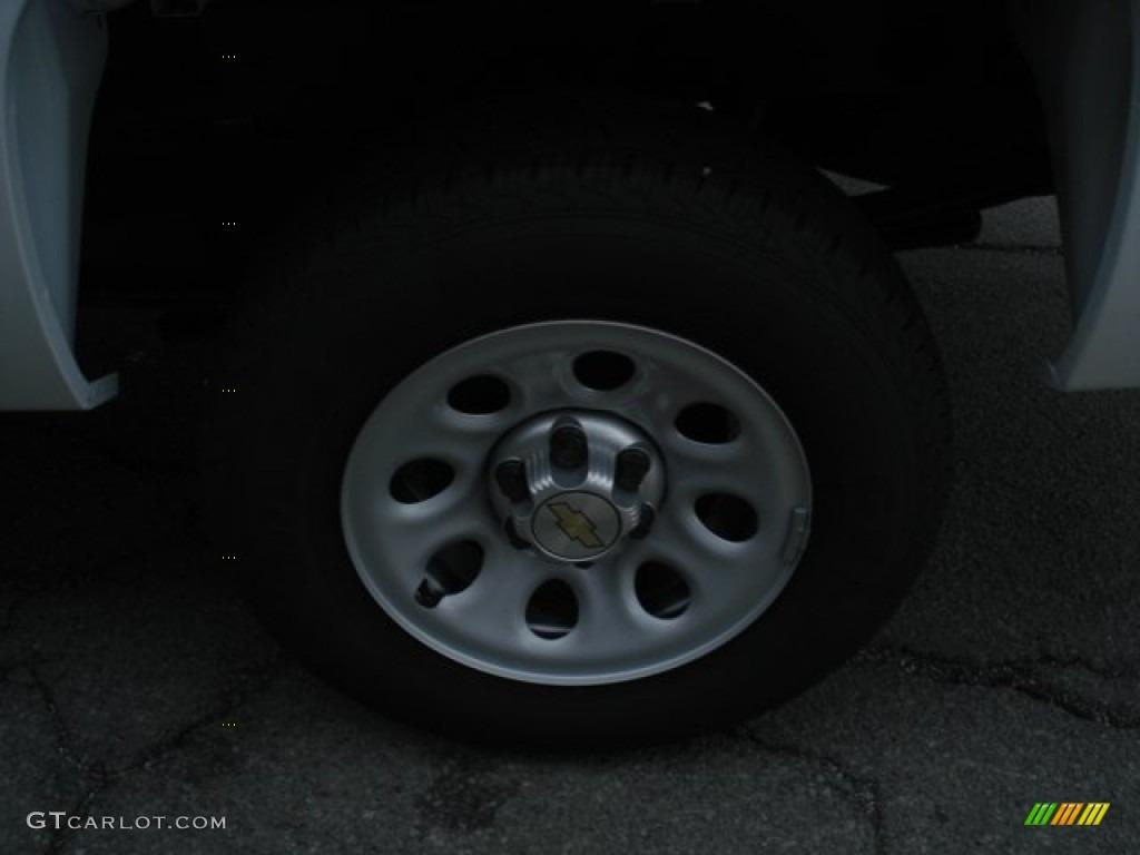 2012 Silverado 1500 Work Truck Regular Cab - Summit White / Dark Titanium photo #9