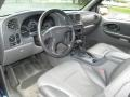 Dark Pewter 2002 Chevrolet TrailBlazer Interiors