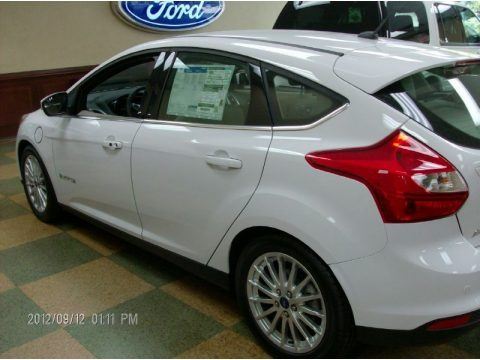 2012 Ford Focus Electric Data, Info and Specs