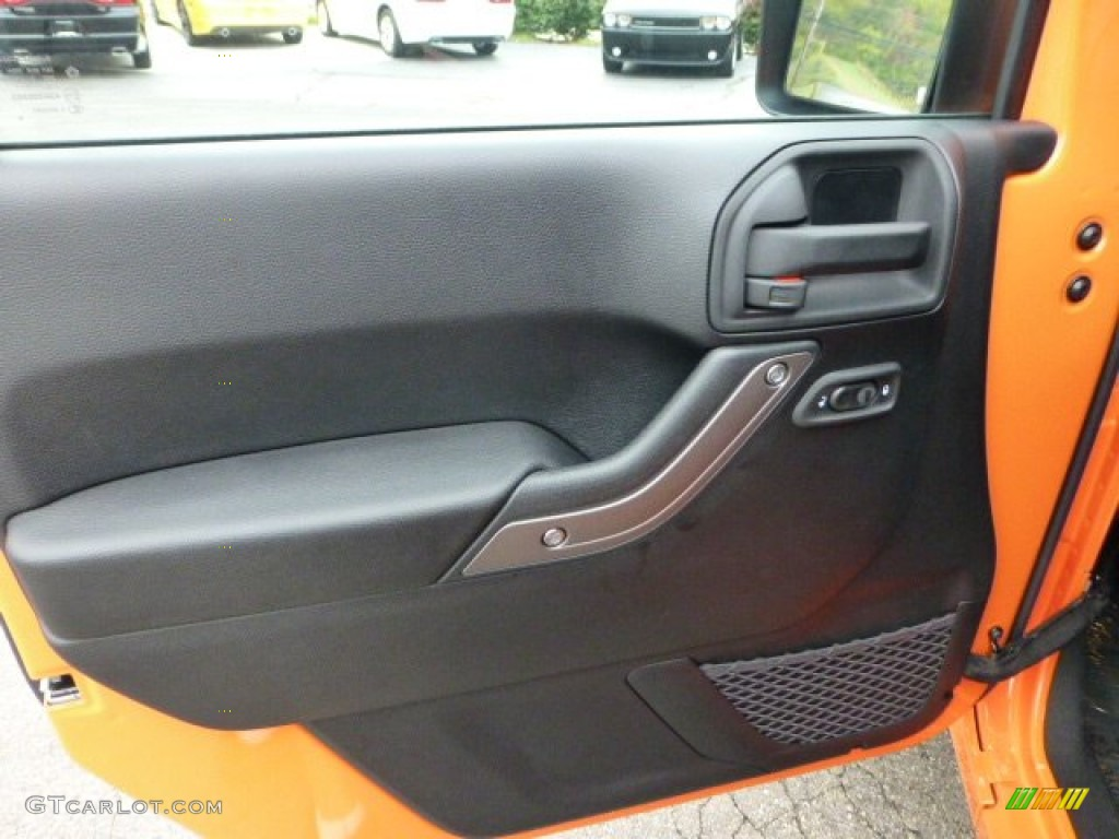 2013 Jeep Wrangler Sport S 4x4 Door Panel Photos
