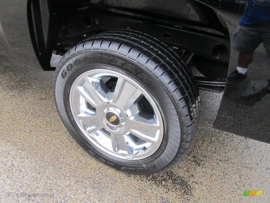 2012 Silverado 1500 LT Extended Cab 4x4 - Black Granite Metallic / Ebony photo #5