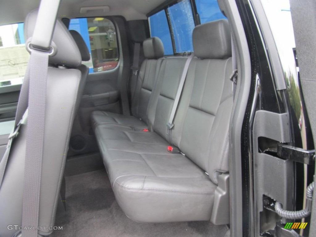 2012 Silverado 1500 LT Extended Cab 4x4 - Black Granite Metallic / Ebony photo #14