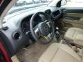 Dark Slate Gray/Light Pebble Beige 2012 Jeep Compass Interiors