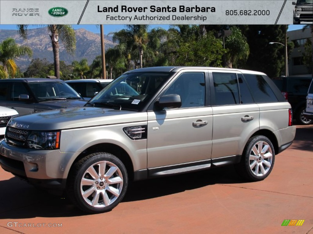 2013 Range Rover Sport HSE - Ipanema Sand Metallic / Almond photo #1