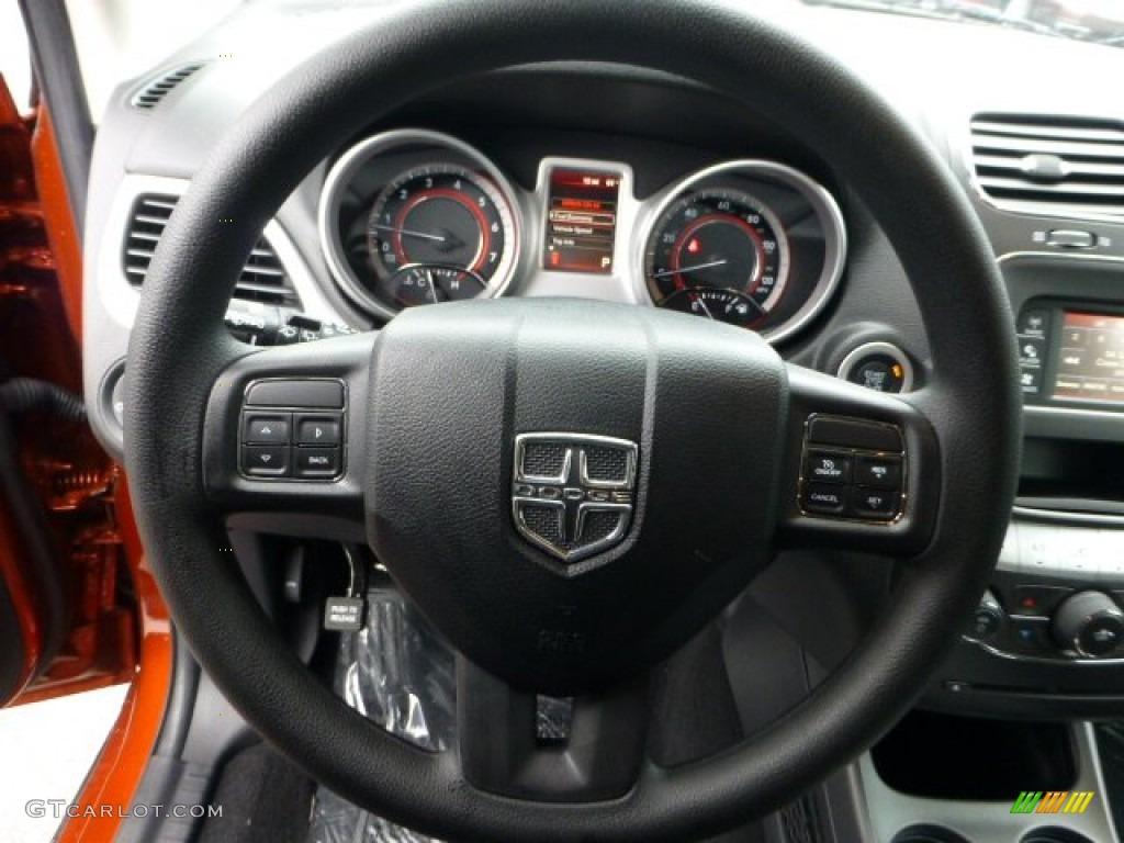 2013 Dodge Journey SXT AWD Black Steering Wheel Photo #71573408 ...