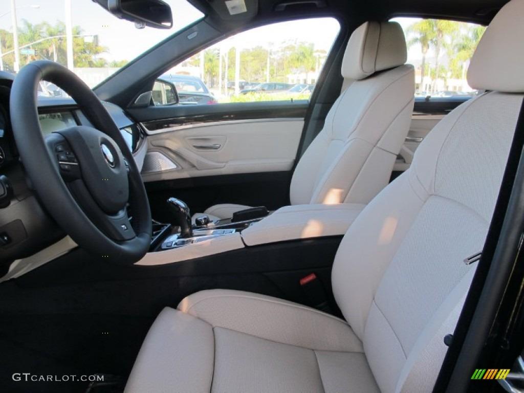 Oyster/Black Interior 2013 BMW 5 Series 550i Sedan Photo ...