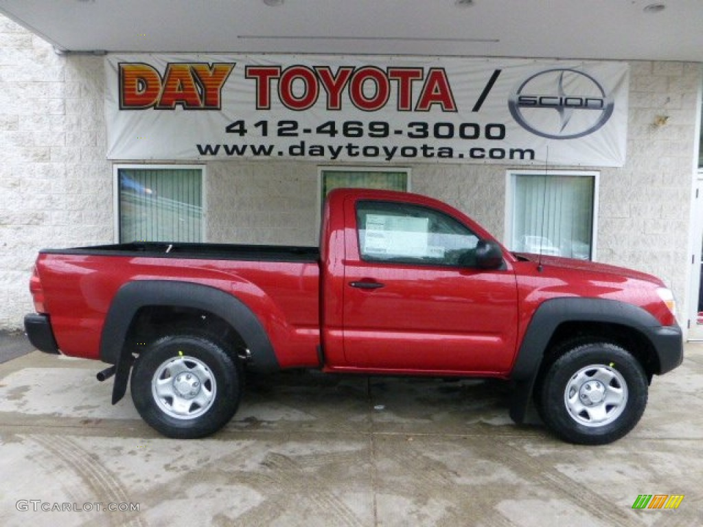 2013 barcelona red metallic toyota tacoma regular cab 4x4 71531028 photo 7. Black Bedroom Furniture Sets. Home Design Ideas