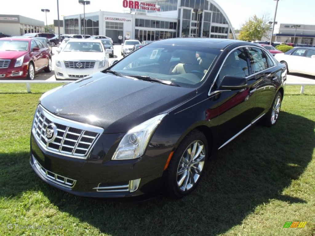2013 black diamond tricoat cadillac xts luxury fwd 71531612 car color galleries. Black Bedroom Furniture Sets. Home Design Ideas