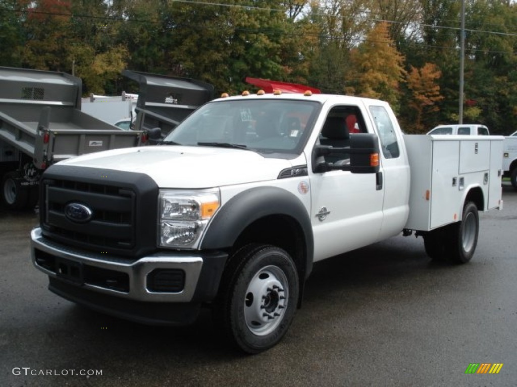 oxford white 2012 ford f450 super duty xl supercab chassis 4x4 exterior photo 71582810. Black Bedroom Furniture Sets. Home Design Ideas