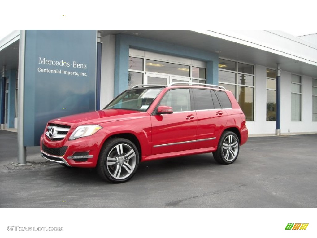 2013 Mars Red Mercedes Benz Glk 350 71532117 Gtcarlot