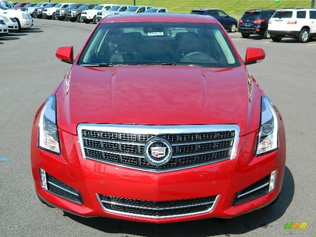 crystal red tintcoat 2013 cadillac ats 3 6l premium awd exterior photo 71586303. Black Bedroom Furniture Sets. Home Design Ideas